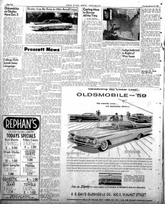 Hope Star from Hope, Arkansas on October 2, 1958 · Page 2