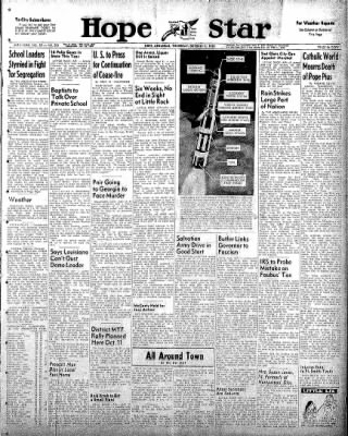 Hope Star from Hope, Arkansas on October 9, 1958 · Page 1