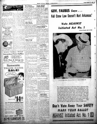 Hope Star from Hope, Arkansas on October 31, 1958 · Page 6