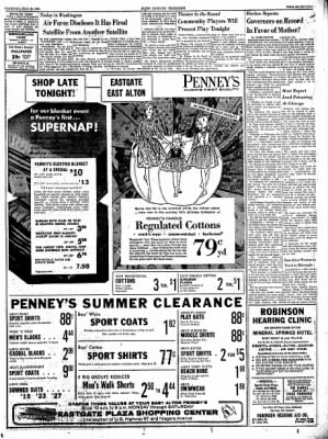 Alton Evening Telegraph from Alton, Illinois on July 25, 1963 · Page 16