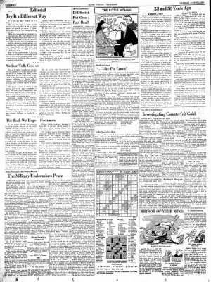 Alton Evening Telegraph from Alton, Illinois on August 1, 1963 · Page 4