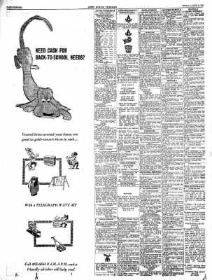 Alton Evening Telegraph from Alton, Illinois on August 9, 1963 · Page 14