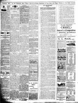 Alton Evening Telegraph from Alton, Illinois on November 7, 1898 · Page 4