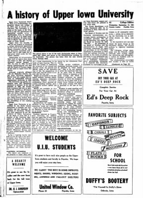 Fayette County Leader from Fayette, Iowa on September 13, 1961 · Page 18
