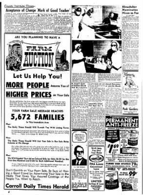 Carrol Daily Times Herald from Carroll, Iowa on September 29, 1959 · Page 6