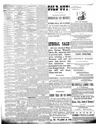 The Postville Review from Postville, Iowa on April 9, 1892 · Page 3