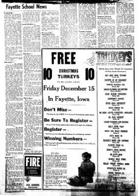 Fayette County Leader from Fayette, Iowa on December 14, 1961 · Page 4