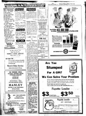 Fayette County Leader from Fayette, Iowa on December 14, 1961 · Page 6