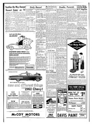 Carrol Daily Times Herald from Carroll, Iowa on October 6, 1959 · Page 6