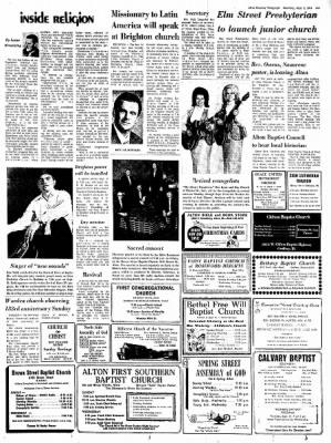 Alton Evening Telegraph from Alton, Illinois on September 9, 1972 · Page 9