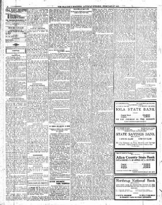 The Iola Register from Iola, Kansas on February 27, 1915 · Page 4