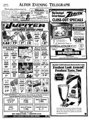 Alton Evening Telegraph from Alton, Illinois on September 13, 1972 · Page 13