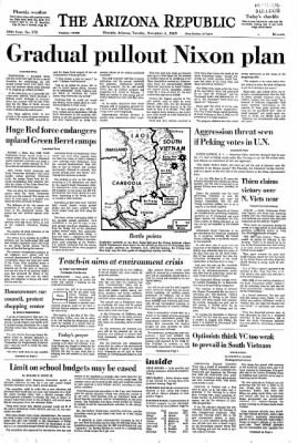 Arizona Republic from Phoenix, Arizona on November 4, 1969 · Page 5