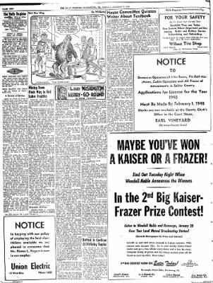 The Daily Register from Harrisburg, Illinois on January 19, 1948 · Page 4