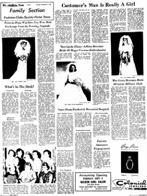 The News from Frederick, Maryland on September 5, 1967 · Page 2