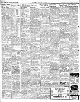 Lubbock Morning Avalanche from Lubbock, Texas on March 3, 1942 · Page 3