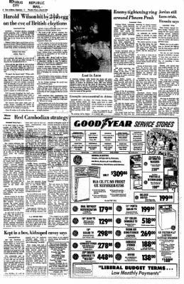 Arizona Republic from Phoenix, Arizona on June 18, 1970 · Page 2