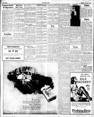 The Paris News from Paris, Texas on July 23, 1934 · Page 8