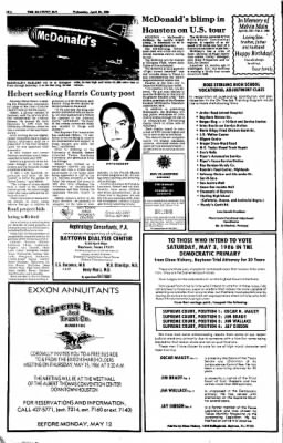 The Baytown Sun from Baytown, Texas on April 30, 1986 · Page 10