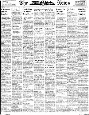 The News from Frederick, Maryland on July 19, 1948 · Page 1