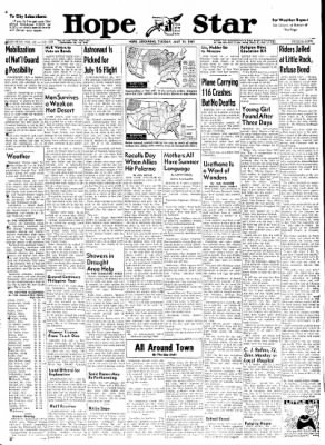 Hope Star from Hope, Arkansas on July 11, 1961 · Page 1