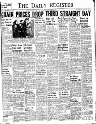 The Daily Register from Harrisburg, Illinois on February 6, 1948 · Page 1