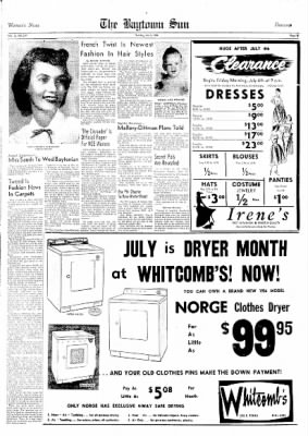 The Baytown Sun from Baytown, Texas on July 5, 1956 · Page 15