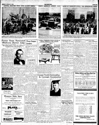 The Paris News from Paris, Texas on August 6, 1934 · Page 5