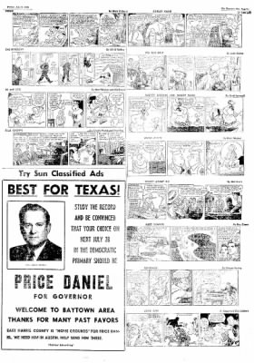 The Baytown Sun from Baytown, Texas on July 6, 1956 · Page 9