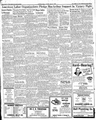 Lubbock Morning Avalanche from Lubbock, Texas on April 2, 1942 · Page 4