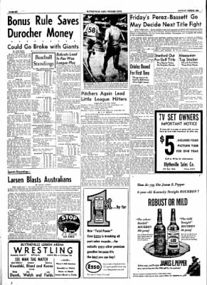 The Courier News from Blytheville, Arkansas on June 21, 1954 · Page 6