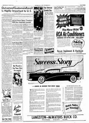 The Courier News from Blytheville, Arkansas on June 23, 1954 · Page 4