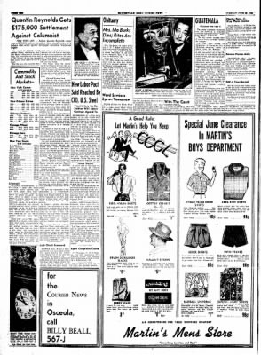 The Courier News from Blytheville, Arkansas on June 29, 1954 · Page 10