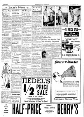 The Courier News from Blytheville, Arkansas on July 23, 1954 · Page 4