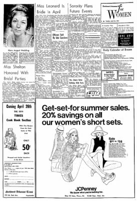 Northwest Arkansas Times from Fayetteville, Arkansas on April 23, 1974 · Page 6