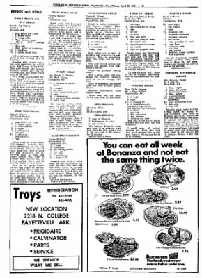 Northwest Arkansas Times from Fayetteville, Arkansas on April 26, 1974 · Page 37