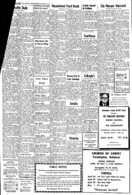 Northwest Arkansas Times from Fayetteville, Arkansas on April 28, 1974 · Page 2