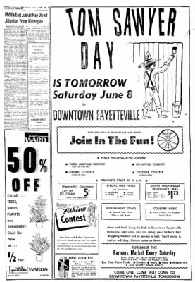 Northwest Arkansas Times from Fayetteville, Arkansas on June 7, 1974 · Page 5