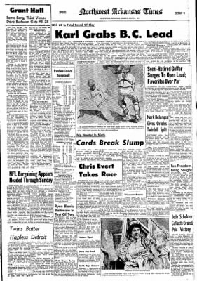 Northwest Arkansas Times from Fayetteville, Arkansas on July 21, 1974 · Page 27