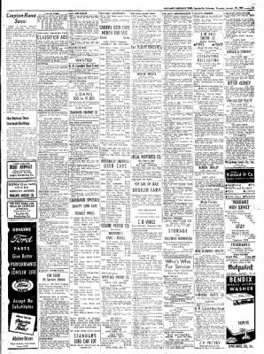 Northwest Arkansas Times from Fayetteville, Arkansas on January 31, 1952 · Page 15