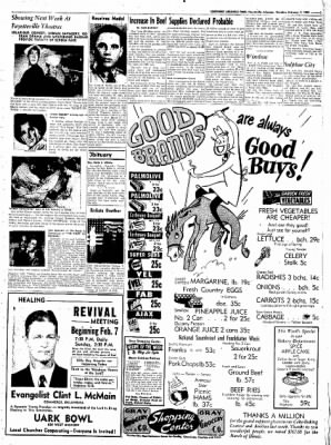 Northwest Arkansas Times from Fayetteville, Arkansas on February 7, 1952 · Page 15