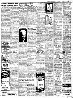 Northwest Arkansas Times from Fayetteville, Arkansas on March 15, 1952 · Page 9
