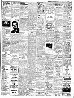 Northwest Arkansas Times from Fayetteville, Arkansas on April 5, 1952 · Page 9