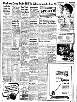Northwest Arkansas Times from Fayetteville, Arkansas on April 7, 1952 · Page 9
