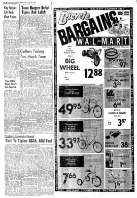 Northwest Arkansas Times from Fayetteville, Arkansas on August 25, 1974 · Page 16