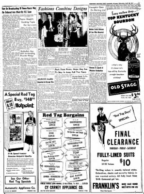 Northwest Arkansas Times from Fayetteville, Arkansas on April 30, 1952 · Page 13