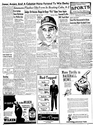 Northwest Arkansas Times from Fayetteville, Arkansas on April 30, 1952 · Page 17