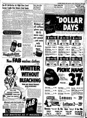 Northwest Arkansas Times from Fayetteville, Arkansas on May 1, 1952 · Page 7