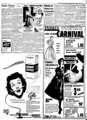 Northwest Arkansas Times from Fayetteville, Arkansas on May 6, 1952 · Page 5