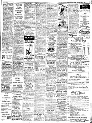 Northwest Arkansas Times from Fayetteville, Arkansas on May 22, 1952 · Page 15